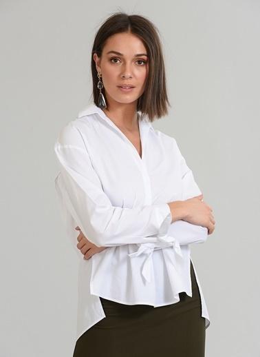 Manşet Detaylı  Gömlek-People By Fabrika
